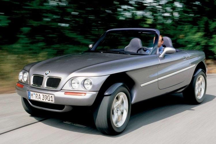 The BMW Z18 was a strange concept that combines the aspect ...